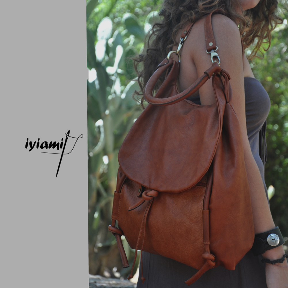 product details for iyiami leather bags and accessories
